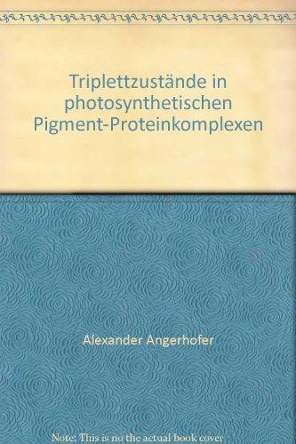 Logo Pigment - Triplettzustände in photosynthetischen Pigment-Proteinkomplexen
