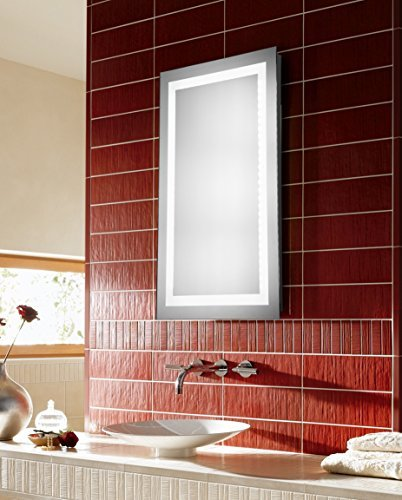 - Elegant Decor MRE-6004 Dimmable 5000K LED Electric Mirror Rectangle, 24