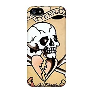 Iphone Case - Tpu Case Protective For Iphone 5/5s- Ed Hardy