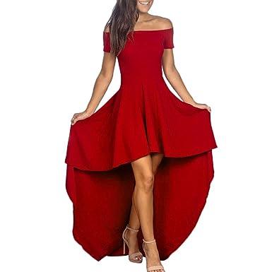 sfumature di 100% di soddisfazione ultime tendenze del 2019 Worsworthy Vestito Lungo Elegante Donna Vestiti Cerimonia ...