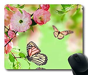 Mouse Pad Springtime Joy Desktop Laptop Mousepads Comfortable Office Mouse Pad Mat Cute Gaming Mouse Pad