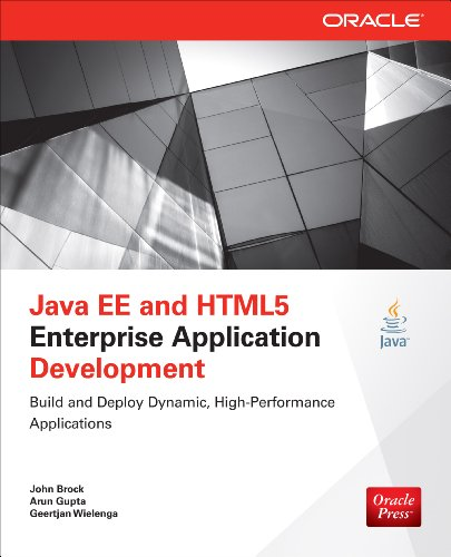 Download Java EE and HTML5 Enterprise Application Development (Oracle Press) Pdf