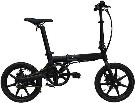 SYCHONG Plegable Bicicleta Eléctrica De 16