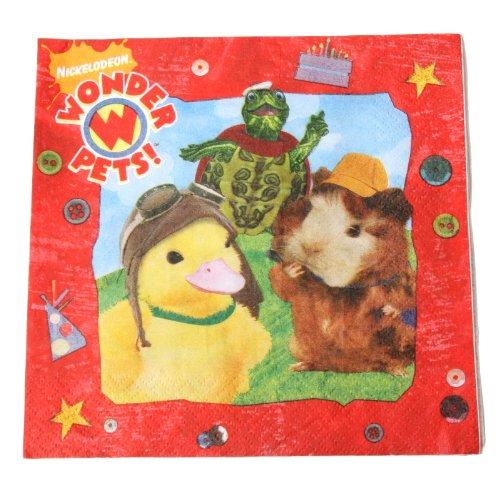 Wonder Pets Lunch Napkins 16ct ()