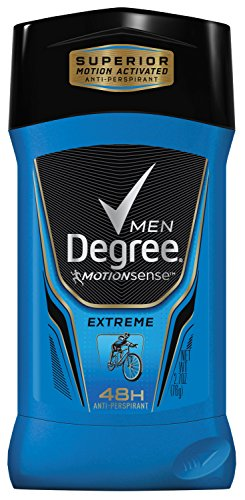 Degree Men Série Adrenaline & Déodorant antisudorifique, Extreme 2,7 oz (Pack de 2)