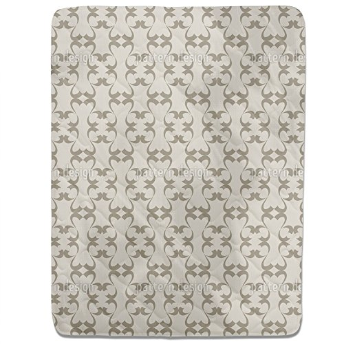 Alhambra Impression Fitted Sheet: King Luxury Microfiber, Soft, Breathable by uneekee