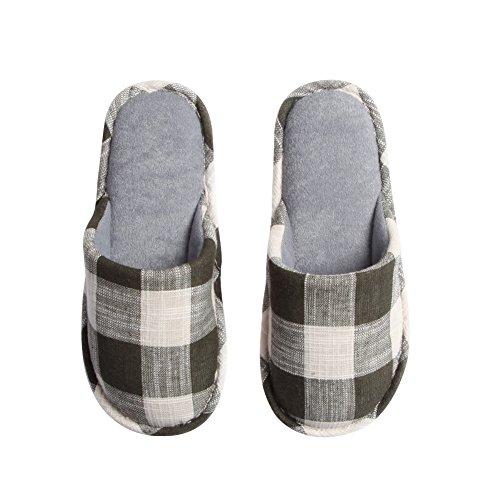 Teasoin Comfort Indoor Slip Op Wasbare Herenhuis Slippers Groen