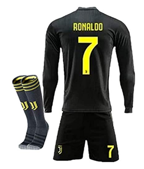 detailed look d2b7c 6e33d Amazon.com : ZZXYSY Cristiano Ronaldo #7 Juventus Men's Away ...