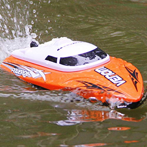 LtrottedJ High Speed RC Boat 2.4GHz 4 Channel Racing Remote Control Boat -