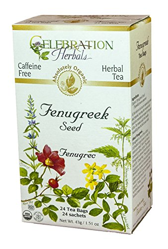 Celebration Herbals Organic Caffeine Fenugreek