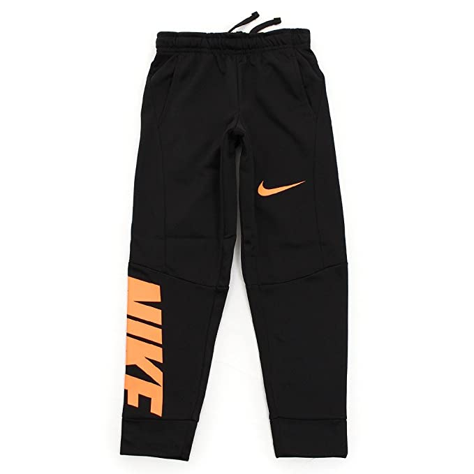 90850ca88d Amazon.com  Nike Little Boys  Therma Dri-Fit Joggers (Sizes 4-7) - Black