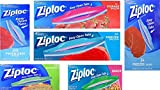 ziploc bags freezer pint - Utensilux Complete 6 Size Variety Pack