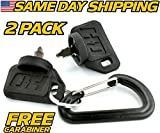 (2 Pack) Poulan, Power King Ignition Switch Key for INDAK Garden Tractor PP60008, 03-2028 - HD Switch