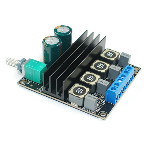 AOSHIKE TPA3116D2 Audio Amplifier Board Amplificador 100Wx2 High Power HIFI Digital 2.0 Dual Channel Amplifier Board(100W x 2)
