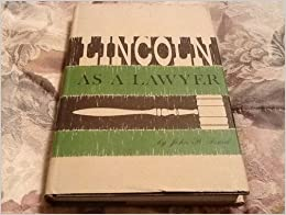 Book Lincoln As a Lawyer