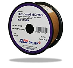US Forge Welding Flux-Cored MIG Wire .035 2-Pound Spool #00072