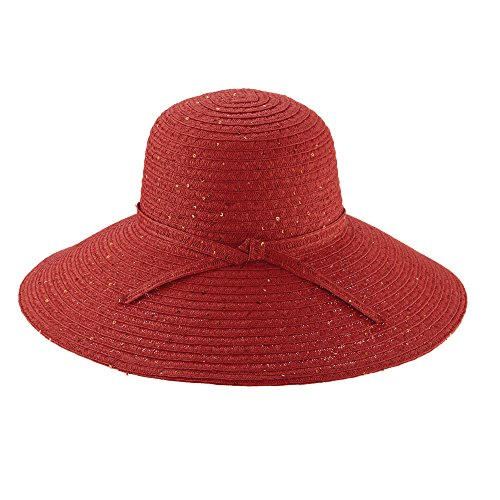 cappelli-paper-poly-big-brim-sequins-sun-hat-red-csw241