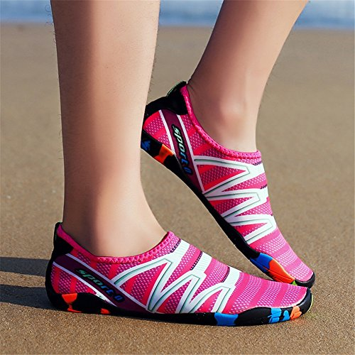 Skin Breathable B Stickers Slip Beach and Snorkeling New Upstream Non Shoes Shoes Women Shoes Wading Swimming Treadmill Shoes Men 2018 81IqRnxq