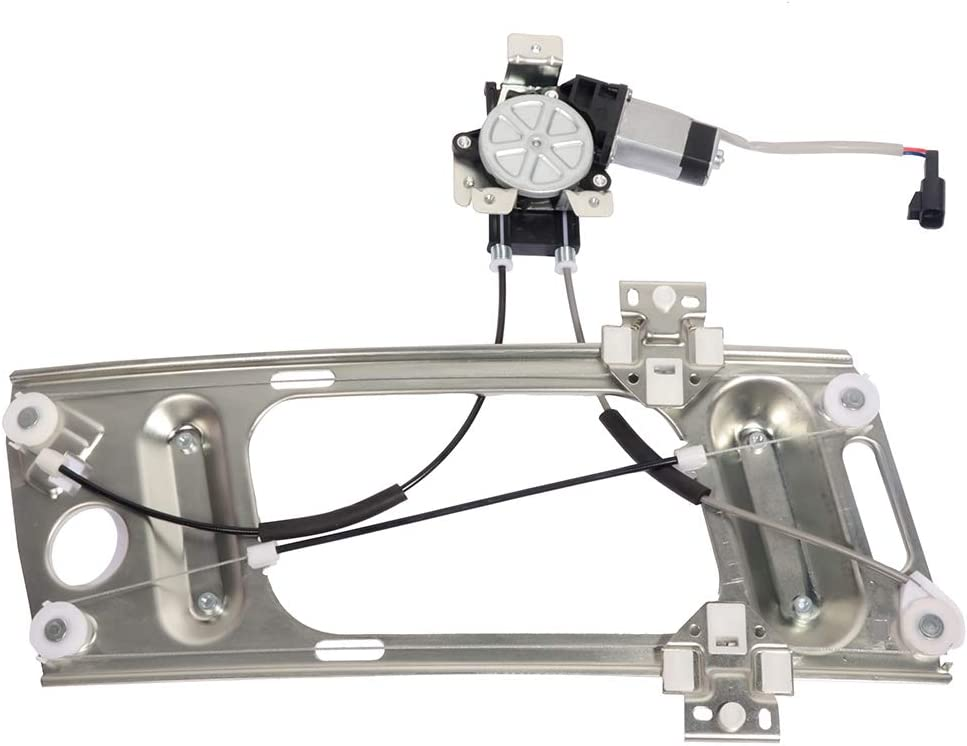 Front Left Drivers Side Power Window Regulator with Motor fits for 2000-2007 For Chevy Monte Carlo 1997-2002 For Pontiac Grand Prix 741-810 10309980 10309982 10345289 10436316