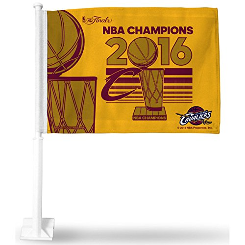 - NBA Cleveland Cavaliers 2016 Champions Car Flag