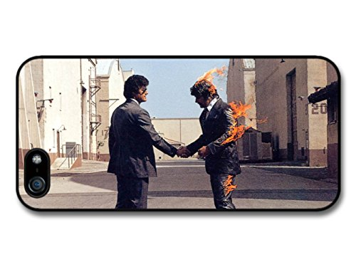 Pink Floyd Rock Band Album Art Man on Fire coque pour iPhone 5 5S