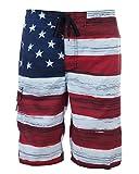 Men's American Flag Swim Trunks (Assorted Designs)