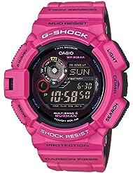 G-Shock GW-9300SR-4 Master of G Man in Sunrise Mudman Luxury Watch - Purple / One Size