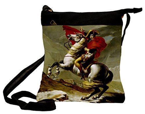 Borsa Borsa A Tracolla Napoleon 25x 30cm dipinta a mano Artis Vivendi