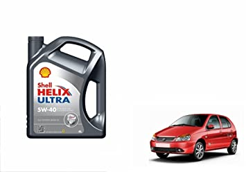 Shell Helix Ultra 5W-40 Synthetic Car Petrol Engine Oil 4