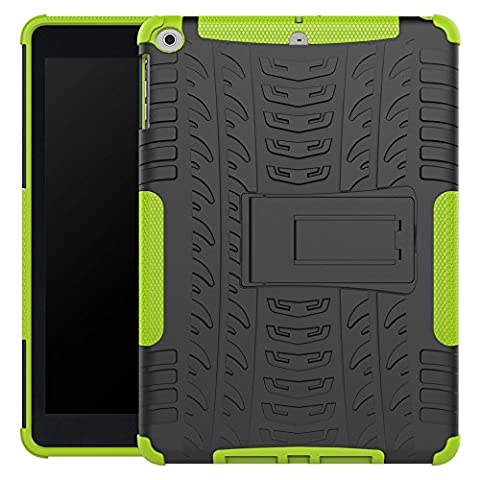 New iPad 9.7 Inch 2017 Cover Case,Jessica Kickstand Feature Heavy Duty Protection PC and Silicone feature Full-body Rugged Protective Case for Apple New iPad 9.7 Inch (2017 (Urban Armor Ipad 3)