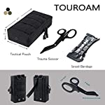 TOUROAM Trauma Medical First Aid Kit -Tactical Emergency Israeli Bandage-Survival Military Combat Tourniquet-Small IFAK… 7