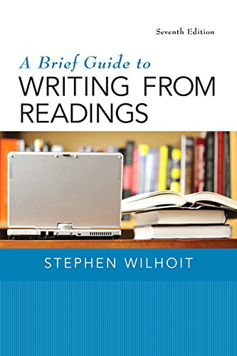 Brief Guide to Writing from Readings, A,  Plus MyWritingLab with Pearson eText -- Access Card Package (7th Edition)