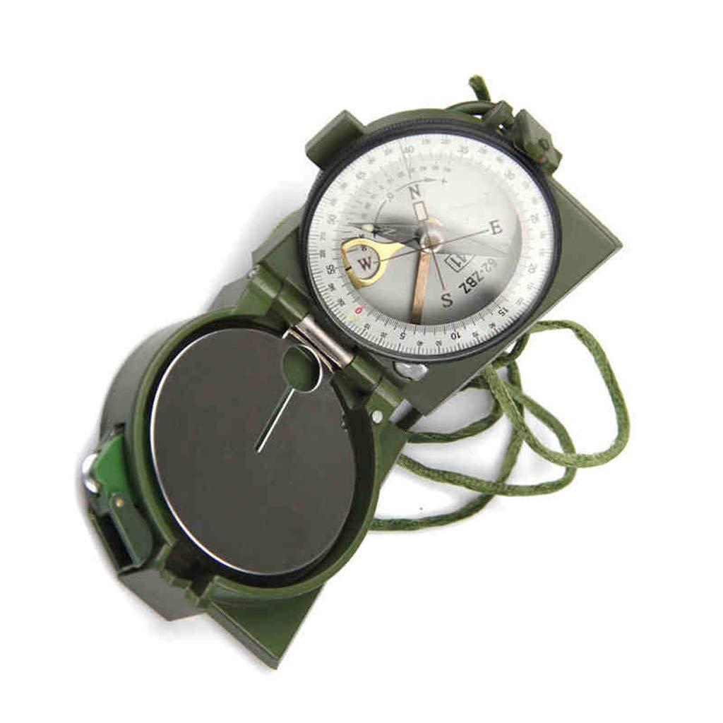 YUNFEILIU Kompass-Armee Fan Outdoor-Produkte 62 Art Kompass Nadel Hand Geologische Kompass Instrument Reisen Kompass Outdoor-Ausrüstung