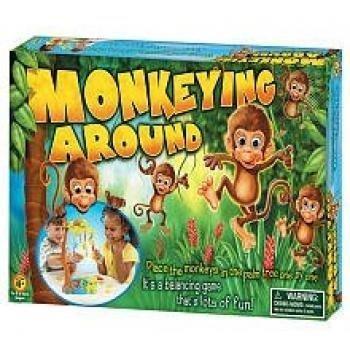 International Playthings Game Zone Monkeying Around Balancing Game