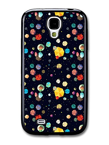 Geometric Diamonds and Rocks In Space Cool Hipster New Style Design coque pour Samsung Galaxy S4