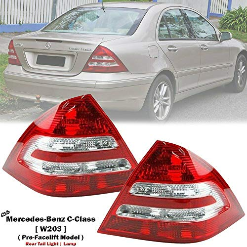 FOR Benz Mercedes W203 C-Class 00-04 C180 C200 C220 REAR TAILLight Lights Lamps ()