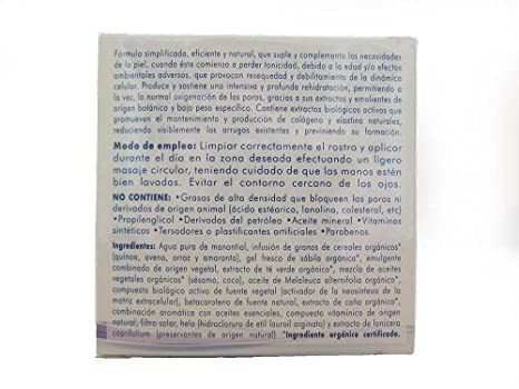 Amazon.com : Organic Anti Wrinkle Facial Night Cream 1.7 fl.oz. | Crema Orgánica Reparadora contra Arrugas Noche 50 ml. : Beauty