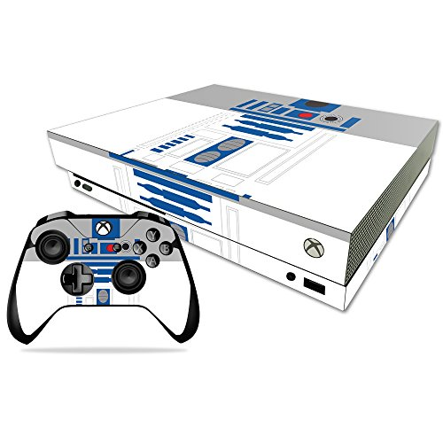 Price comparison product image MightySkins Skin for Xbox One X Combo - Cyber Bot Protective, Durable, and Unique Vinyl Decal wrap cover   Easy To Apply, Remove, and Change Styles   Made in the USA