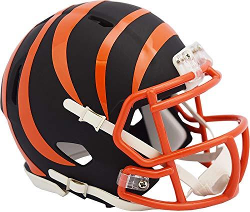 Cincinnati Bengals NFL Black Matte Alternate Speed Mini Football Helmet