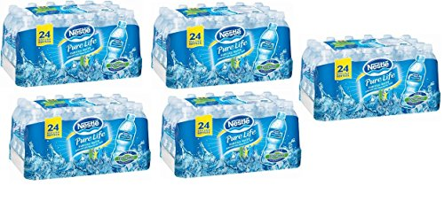 Nestle Pure Life Purified Water 16.9 Oz mKhgwQ, (Pack of 120) by Nestle