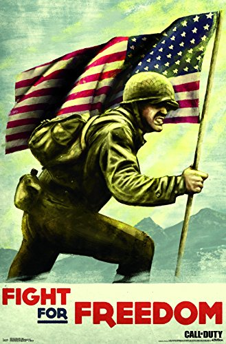 Trends International Wall Poster Call of Duty: Wwii-Fight, 22.375