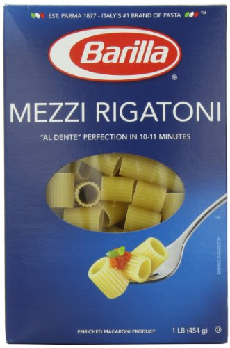 Rigatoni, 16 Ounce (Pack of 12) ()