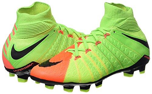 Nike Herren 860643-308 | Hypervenom Phantom III FG Fußballschuhe ELECTRIC GREEN/BLACK-HYPER