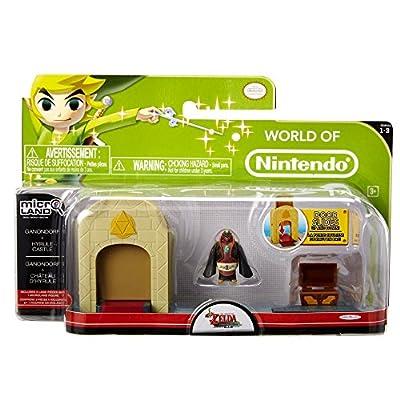 World of Nintendo Legend of Zelda Windwaker Ganondorf and Hyrule Castle Set: Toys & Games