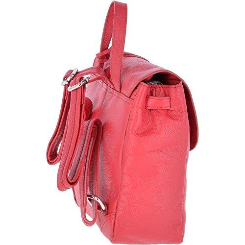 dos à porté pour main au Leather Ashwood rose Sac femme Rose 1I4E1qY