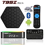 2017 Model BPSMedia Android 7.1 Bluetooth TV Box Amlogic S912 64 Bits Octa Core and Supporting 4K (60Hz) Full HD /H.265 /WiFi 2.4/5GHz /T95Z Plus /2GB-16GB /FREE WIRELESS KEYBOARD