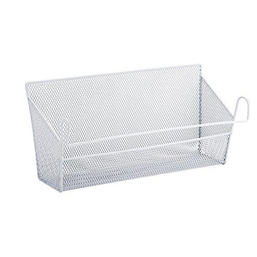 YAHUIPEIUS Bunk Bed Basket Dormitory Bedside Loft Beds Hanging Baskets Organizer Caddy (White)