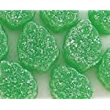 Green Spearmint Leaves Candy 1LB Bag