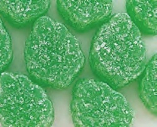 (Green Spearmint Leaves Candy 5LB Bag (Bulk))