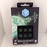 (Ship from USA) Q-WORKSHOP Ingress Enlightened Dice Set 6 D6 /ITEM#H3NG UE-EW23D118518 by JACI-ROLY